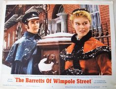 "Vintage Movie Lobby Card ""The Barretts of Wimpole Street"" MGM 1951 11"" x 14"""