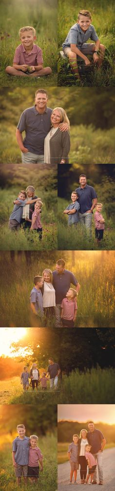 I love everything about summer – late summer nights, warm, glowy sunsets, beautiful grasses, wildflowers – and family portraits. Summer Family Portraits, Family Photos, Late Summer, Summer Nights, Portrait Pictures, Senior Portraits, Family Photographer, Iowa, Portrait Photographers
