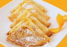Crepes Suzette. Deliciosa receta de crepes Suzette. No te podras resistir a estos crepes. Llevan naranja, licor de naranja, mantequilla, huevos, harina.....