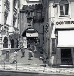 Coimbra Portugal, Street View, Cbr, Bobbers, Nostalgia, Times, Old Photographs, Old Pictures, City
