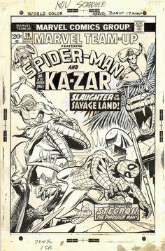 MARVEL SUPER-HEROES SECRET WARS #9 COVER -  MIKE ZECK - 1985 - W.B.