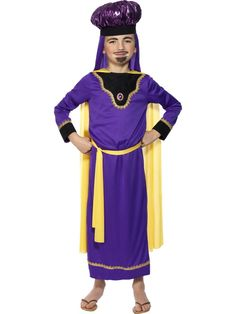 Nativity King Balthasar Costume | Smiffy's AUS