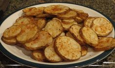 One Crazy Cookie: Oven-Fried Parmesan Potatoes