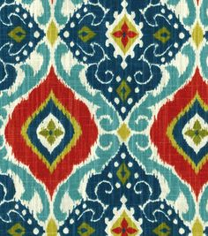 Home Decor  Print Fabric- Richloom Studio  Jabari Multi