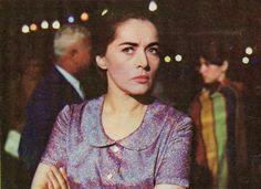 "Romanian actress Margareta Pogonat. Image from ""Cinema"" magazine (August 1968)"