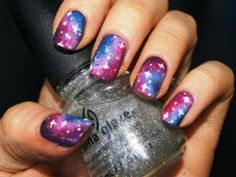 Star Cute Nail Designs for Short Nails