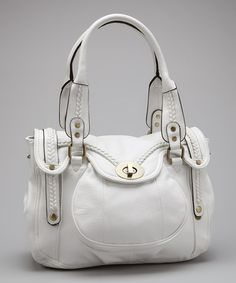 Take a look at this White Melody Tote by Melie Bianco on #zulily today!