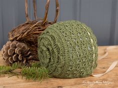The Rosemary Green baby bonnet is filled with rich, earthy hues, flowers, and lacy stitches. A delicate ribbon tie adds to the vintage charm. Crochet Baby Bonnet, Crochet Bebe, Crochet Baby Clothes, Newborn Crochet, Crochet For Kids, Baby Blanket Crochet, Crochet Hats, Free Crochet, Crochet Granny