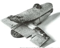 A hand vise recovered from an excavation in the Viking ship building community of Hedeby, Denmark.