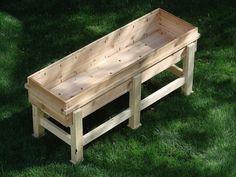 DIY Waist High Planter Box