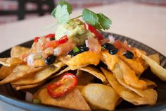 Nacho Supreme at My Vegan Gold   #Healthy #Nachos #LosAngeles