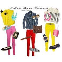 Fashion Tips For Rushing A Sorority   GirlsGuideTo