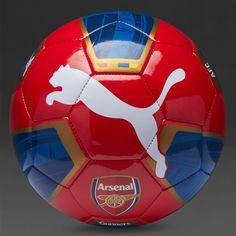 Puma Arsenal 15 16 Fan Ball - High Risk Red Estate Blue Gold White 684d0e405