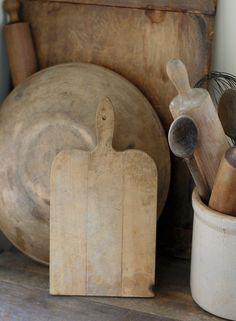 Antique Wood Cutting Board