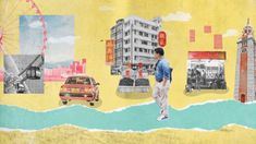 motion graphic CJ E&M tvN Design / Motion : KJ (guide bgm: Kiefer - Tubesocks) V Video, Motion Video, Stop Motion, Collage Video, Motion Graphs, Digital Painting Tutorials, Mixed Media Collage, Collage Art, Illustrations And Posters