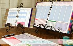 The Uncluttered Lifestyle: Here It Is... 2015 Weekly Planner