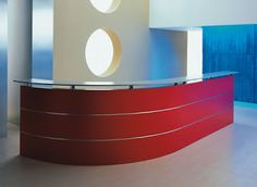 curved reception desks - Google Search