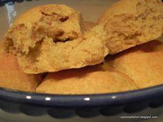 Finding Joy in My Kitchen: Sweet Potato Dinner Rolls
