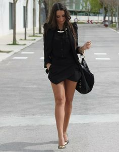 LoLoBu - Women look, Fashion and Style Ideas and Inspiration, Dress and Skirt Look Estilo Fashion, Look Fashion, Fashion Outfits, Womens Fashion, Fashion Trends, Fall Fashion, Looks Street Style, Looks Style, Style Me