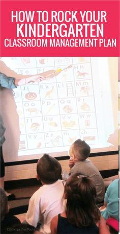 to Rock Your Kindergarten Classroom Management Plan Kindergarten Classroom Management Plan - How to Get startedKindergarten Classroom Management Plan - How to Get started Kindergarten Classroom Management, Classroom Discipline, Classroom Procedures, Teaching Kindergarten, Teaching Ideas, Classroom Ideas, Positive Discipline, Future Classroom, Preschool Ideas