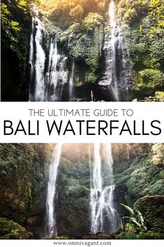 If there is one thing that should be on your Bali itinerary it is chasing waterfalls! From the Sekumpul Waterfall to magical waterfalls such as the Tukad Cepung Waterfall, Bali has it all! So what are you waiting for? Check which waterfalls you should put Ubud, Places To Travel, Places To See, Travel Destinations, Bali Travel Guide, Asia Travel, Travel To Bali, Lombok, Bali Waterfalls