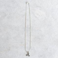 Triskele necklace, Sterling silver triskele charm necklace, Silver greek necklace, Ancient Greek charm necklace, Celtic charm (CH55) by SilverCartel on Etsy