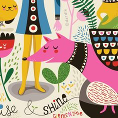 Rise and Shine Clementine  limited edition giclee by helendardik, $25.00