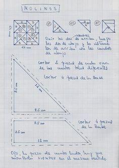 ***** MI COLCHA DE PATCHWORK CON LOS PATRONES ***** - Foro Manualidades - MundoRecetas.com
