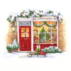 Lisa Alderson - LA - christmas antiques shop.jpg