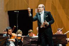 Maestro Roberto Tibiriçá e OSB. Foto: Cicero Rodrigues