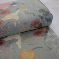 PRICE IS PER HALF METRE110cm wideMade in Japan. Designer Naomi Ito's 'Nani Iro' range is renowned for its beautiful painterly designs on high quality Japanese fabrics.This double gauze is two fine layers of cotton woven together to form a soft, drapey, breathable and opaque fabric. Great for tops, dresses, skirts, whole cloth quilting and more.A delightful gentle greenish-blue-grey colourway.