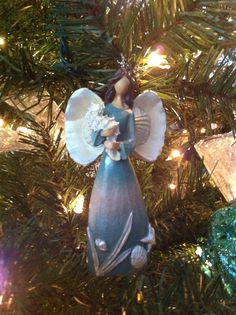 Angel for our beachy tree