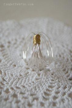 Easy peasy wire ring DIY * Drahtring selber machen
