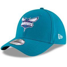 brand new c20f2 d02b5 Men s New Era Teal Charlotte Hornets Team Classic 39THIRTY Flex Hat