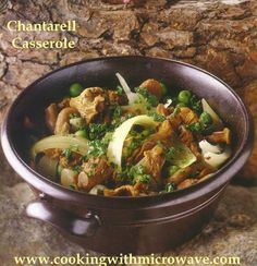 Chanterelle Casserole for Microwave