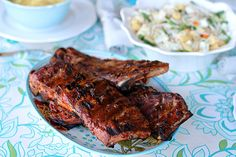 How To Make Amazing BBQ Ribs - no smoking needed, this is a fix them and forget them method that results in amazing fall off the bone ribs! Bbq Ribs, Pork Ribs, Pork Recipes, Cooking Recipes, Healthy Recipes, Food N, Food And Drink, Bad Food