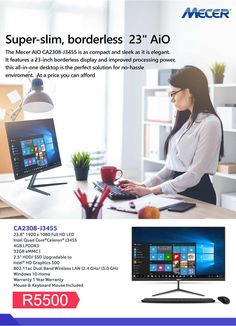 Mecer All in One Mecer Xhibitor Proficient All in One Specs:Intel Quad Core FHDWindows 10 Memory Flash Memory, Card Reader, Sd Card, Quad, All In One, Passion, Memories, Quad Bike, Flash Drive