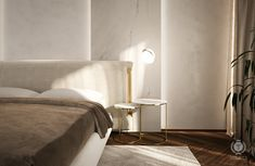 tolicci, design apartments, luxury bedroom, italian design, luxusna spalna, taliansky dizajn, nocny stolik, bedside table