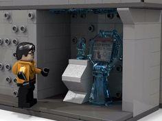 Lego Dc Comics, Star Labs, Reverse Flash, Amazing Lego Creations, Lego Room, Lego Design, Cool Lego, Nerd Geek, Lego Ideas