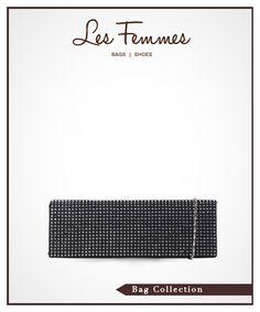 Hyona Black Clutch 139,000 IDR #Fashion #Women #Clutch shopping online find here http://www.lesfemmes.co.id/clutches/hyona-black-clutch