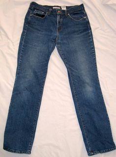 "Levi 505 Womens Jeans Size 10 W 32"" Inseam 31"" Heavy Fabric #LeviStrauss #StraightLeg"