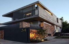 Remarquable maison urbaine en pierres et béton en Grèce | Construire Tendance