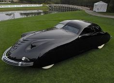 A 1938 Phantom Corsair Classic car  Download AZukx Ambient and Trance Music free at www.gesarofling.co.uk