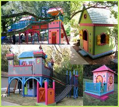 backyard kids backyard playground playground ideas cubby houses play ...