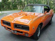 1970 Pontiac GTO - Had a Burgandy /w  Converitable top