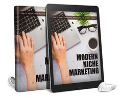 Modern Niche Marketing Squeeze Page, Sales Letter, Audiobook, Lettering, Marketing, Modern, Products, Letters, Texting