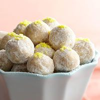 No bake lemon drop cookies