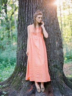 Платье лен LIVIN LINEN