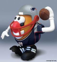 Mr. Potato Head NFL - New England Patriots
