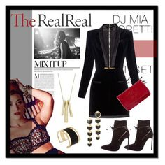 """Jet Set Style With DJ Mia Moretti & The RealReal: Contest Entry"" by zogra ❤ liked on Polyvore featuring Yves Saint Laurent, Balmain, Chanel, Rachel Zoe and Lauren Ralph Lauren"